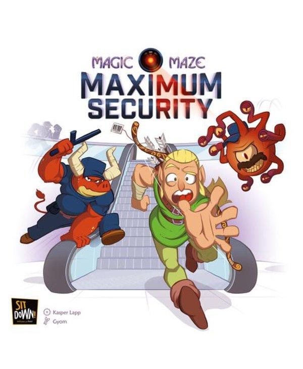 Magic Maze - Maximum Security (Extension)