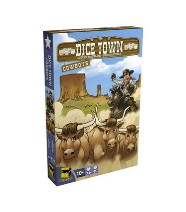 Matagot Dice Town - Cowboys (Extension)
