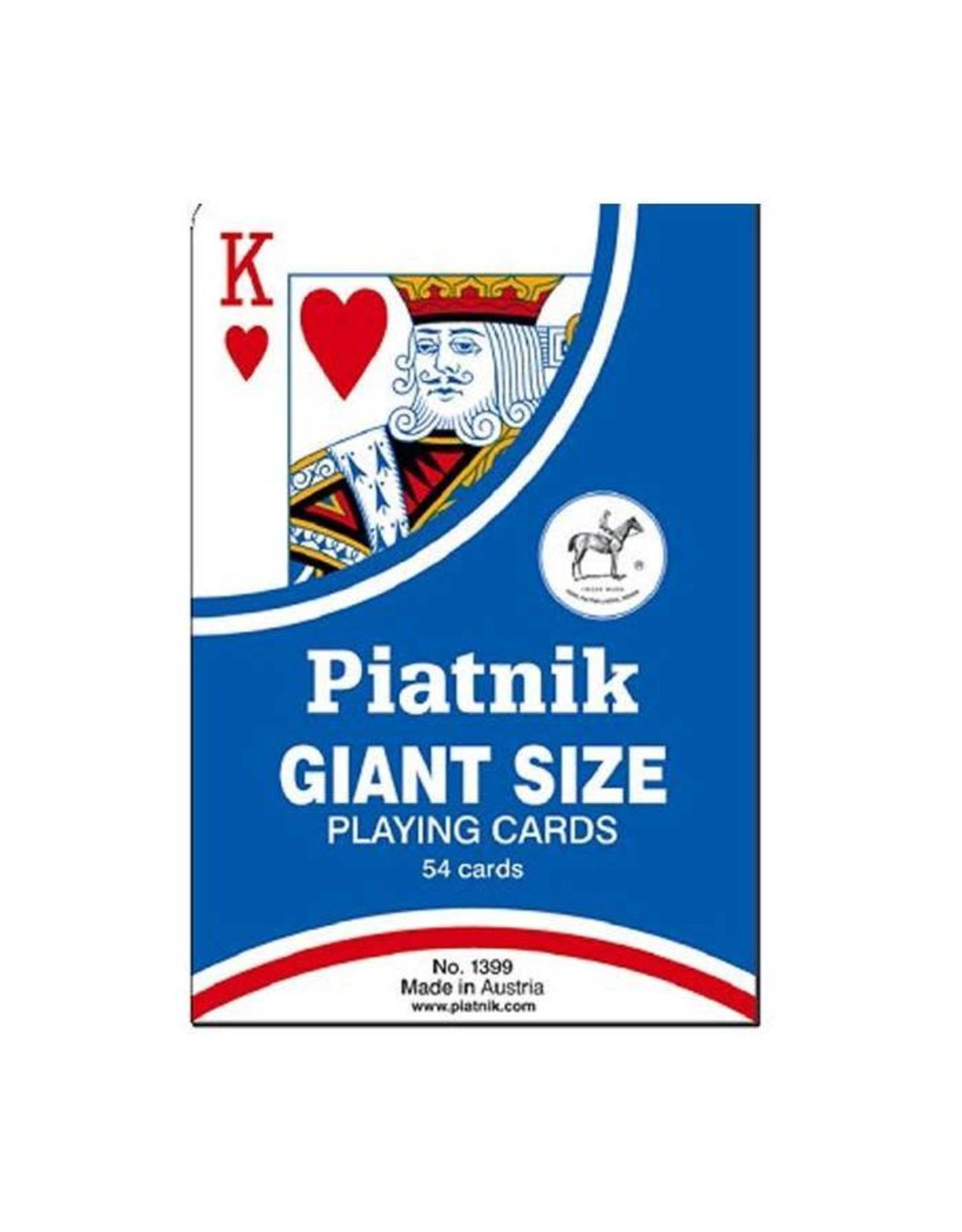 Piatnik Cartes à jouer géantes