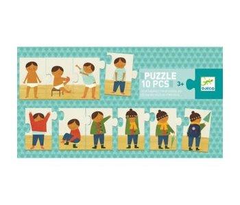 Puzzle Duo - Je m'habille