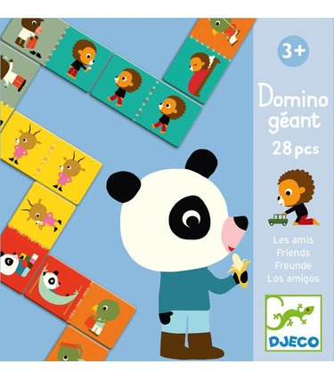 Djeco Domino Géant - Les amis
