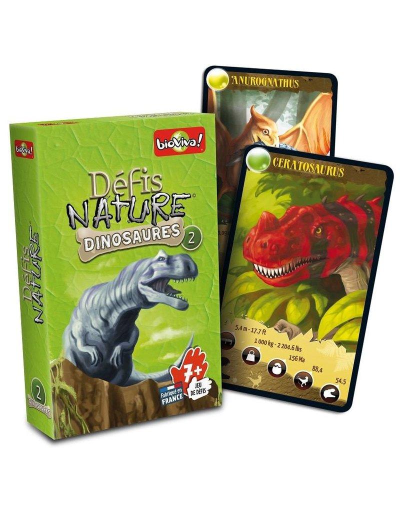 Défis Nature - Dinosaures 2 (boîte verte)