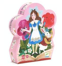 Djeco Puzzle silhouette - Alice au pays des Merveilles 50mcx