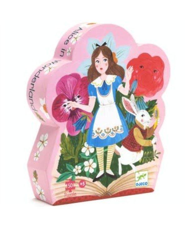 Puzzle silhouette - Alice au pays des Merveilles 50mcx