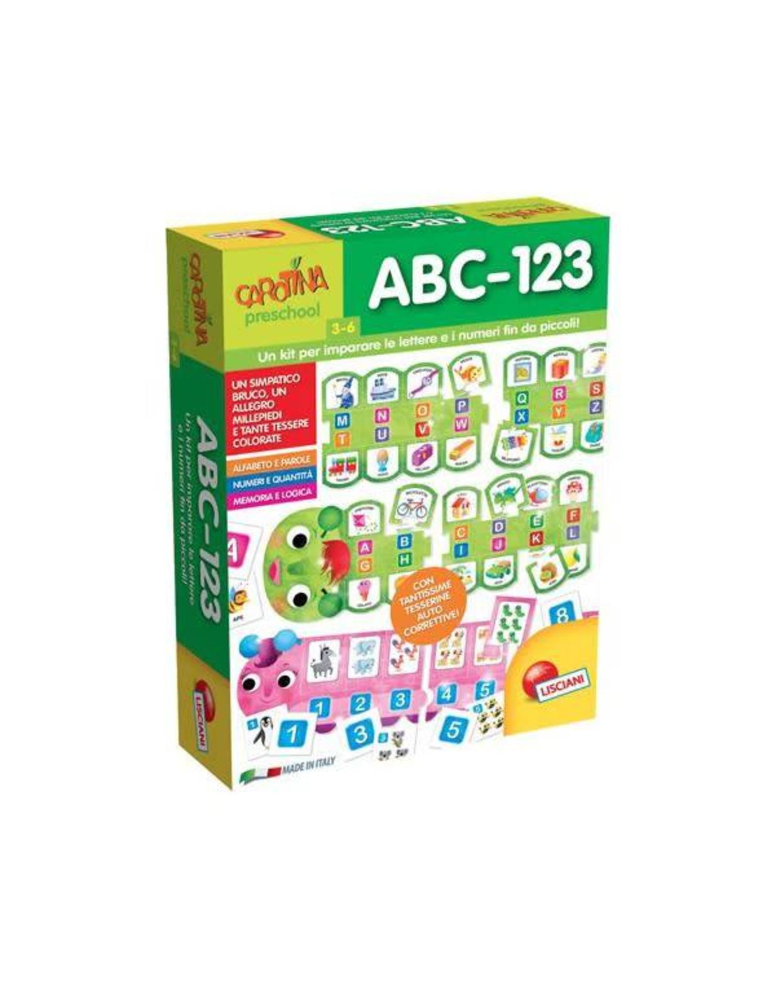 Lisciani Maxi fiches ABC-123