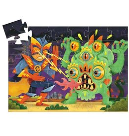 Djeco Puzzle silhouette - Laser boy 36mcx