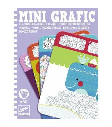 Djeco Mini Grafic - Doodles junior