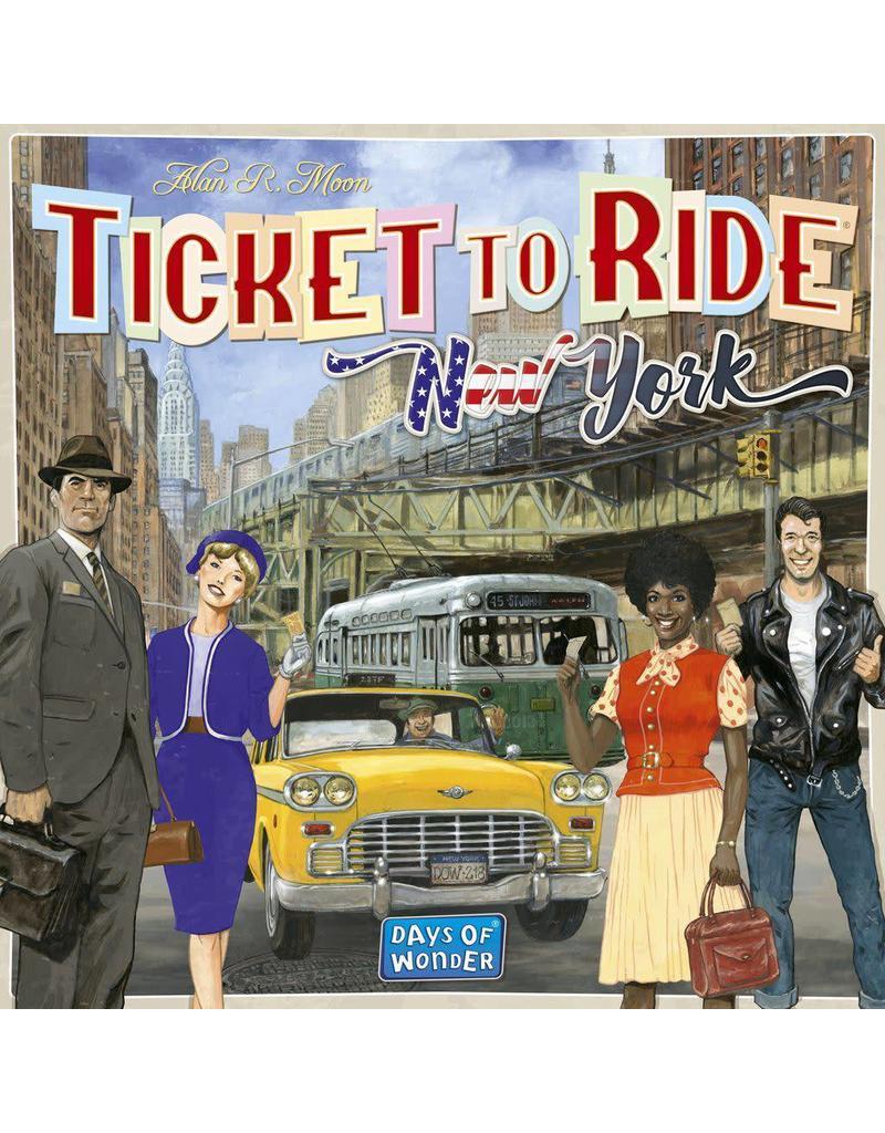 Days of Wonders Aventuriers du Rail New York