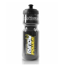 Ryno Power Ryno Power | Black Sport Cycling Bottle (BPA Free)