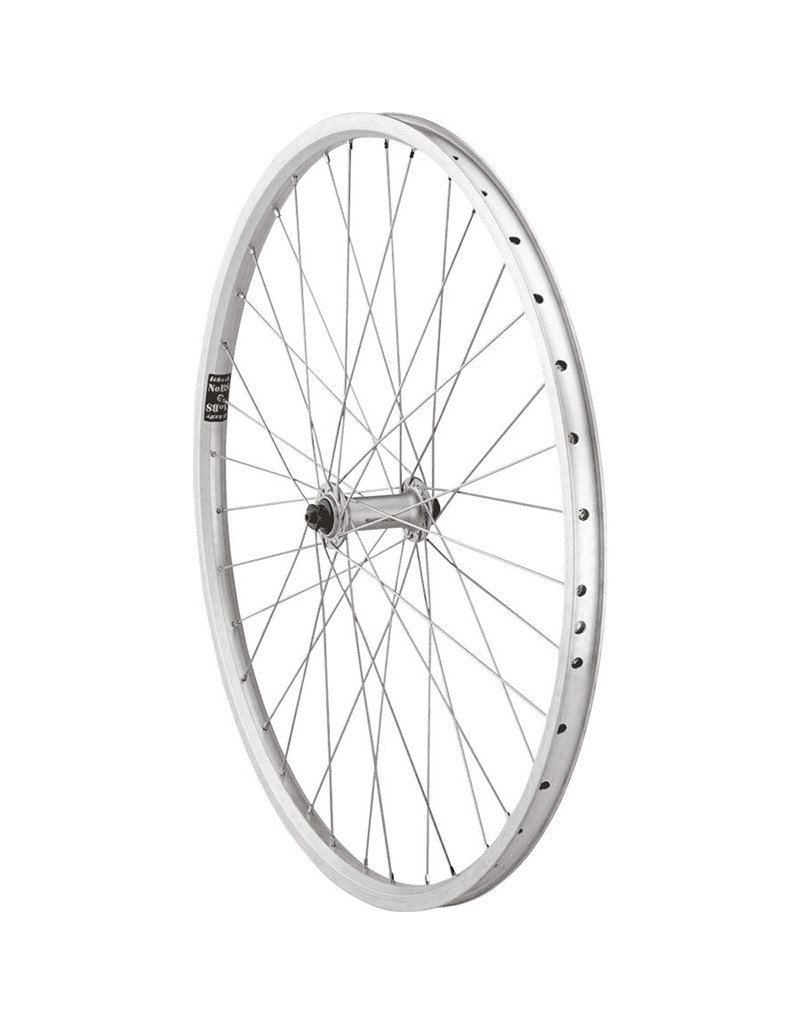 Quality Wheels | Front Value XL Rim Brake 26 100mm QR Velocity NoBS Raw