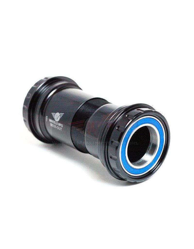 Wheels Manufacturing Wheels Manufacturing   BB30 Outboard ABEC-3 BB for 24mm Cranks (Shimano) - Black