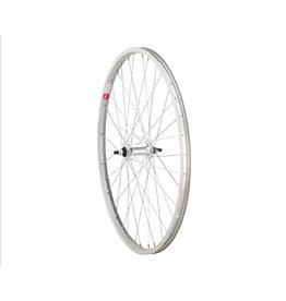 "Sta-Tru   Front Wheel Front Wheel - 26"", 3/8"" x 100mm, Rim Brake, Silver, Clincher"