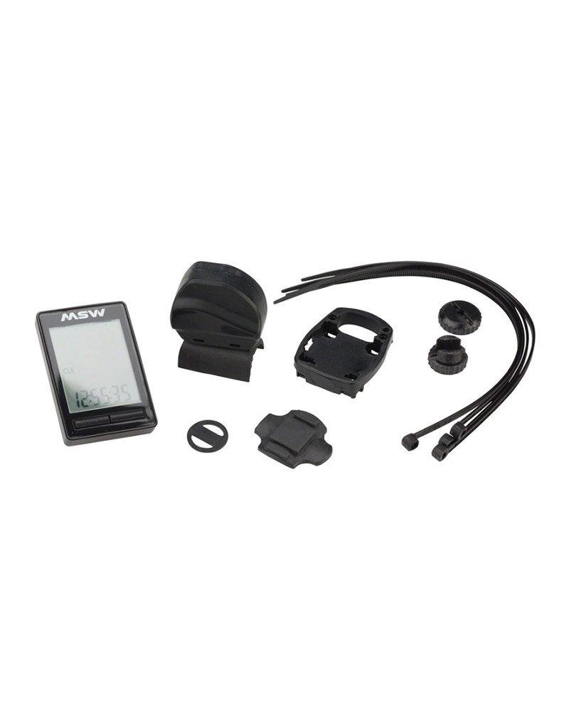 MSW MSW | Miniac Wireless Bike Computer - Wireless, Black