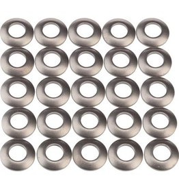 Zipp Speed Weaponry Zipp | Round Titanium Nipple Washers for 202 Carbon Clincher Firecrest Wheels, 25-pack
