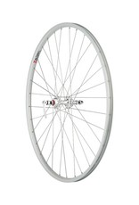 "Quality Wheels | Rear Wheel Value Series 27"" 32h 126mm Cartridge Bearing / Alex AP18 / DT Factory Silver"