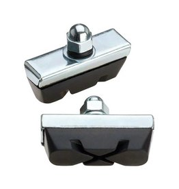 Jagwire Jagwire | Basics X-Caliper Brake Pads PAIR Threaded Black Card