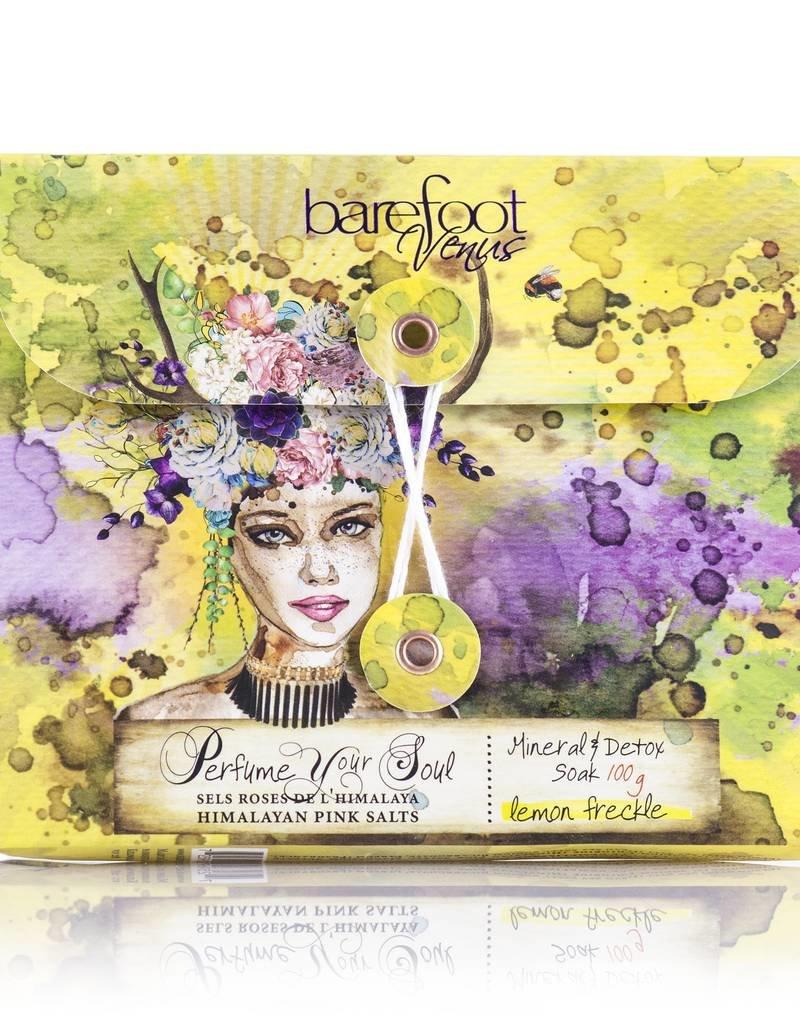 Barefoot Venus Lemon Freckle Bath Salts 100g