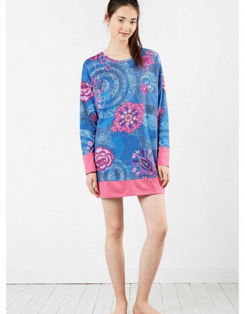 Desigual Livingwear 17WNYK05-Boho Jeans Nightdress