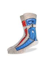 Good Luck Sock 2041-Crew Sock XL-Rock'em Sock'em 13-17