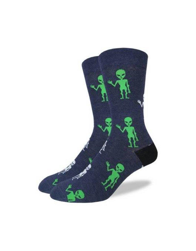 Good Luck Sock 2024-Crew Sock XL-Aliens 13-17