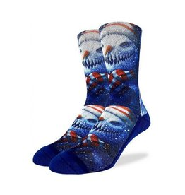 Good Luck Sock 4130-Active Fit-Evil Snowman 8-13