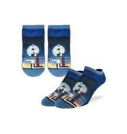 Good Luck Sock 6012-Ankle Sock-Rocket Launch 7-12