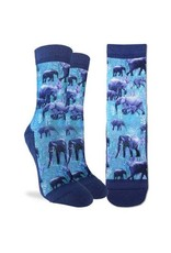Good Luck Sock 5086-Active Fit-Herd of Elephants 5-9