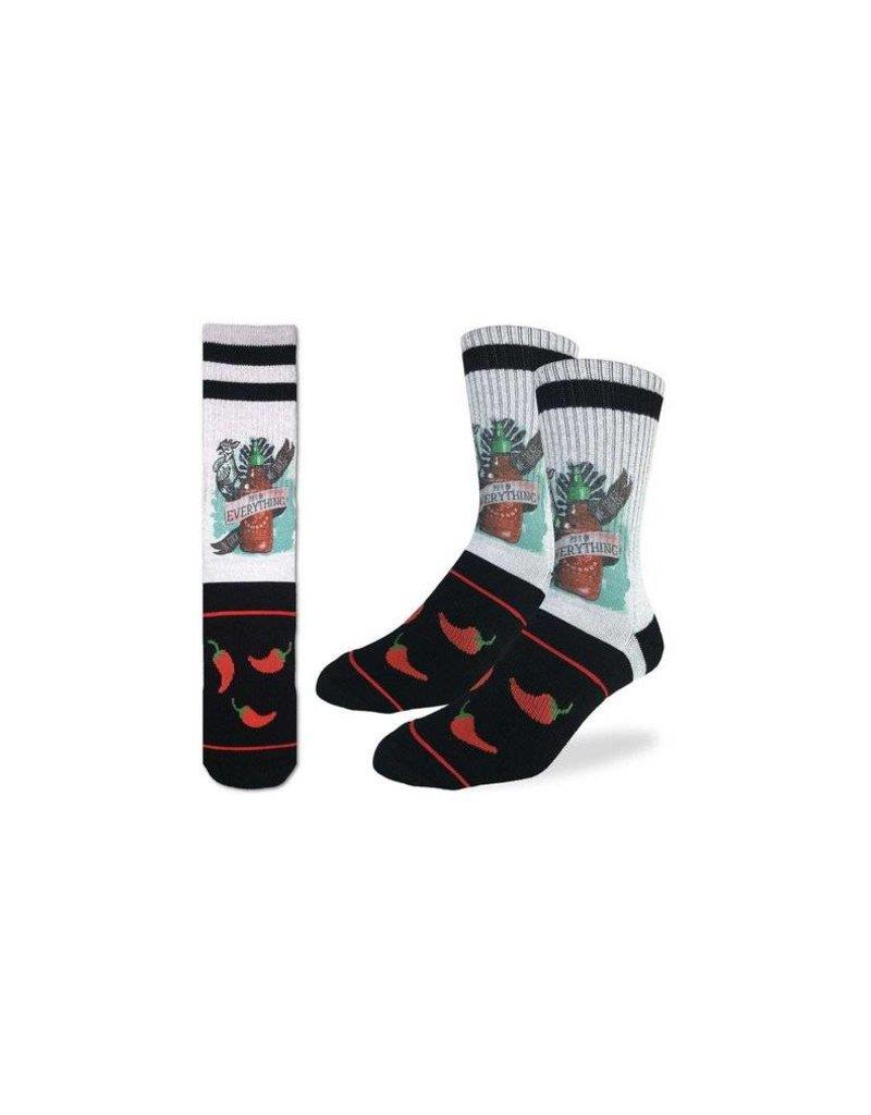Good Luck Sock 4042-Active Fit-Sriracha 8-13
