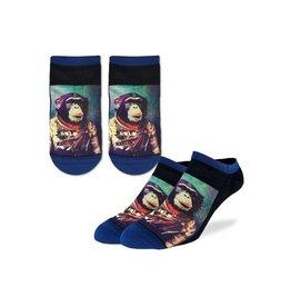 Good Luck Sock 6014-Ankle Sock-Space Monkey 7-12