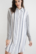 H605-Kandall Shirt Dress