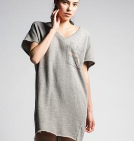 preloved H606-Violet Dress