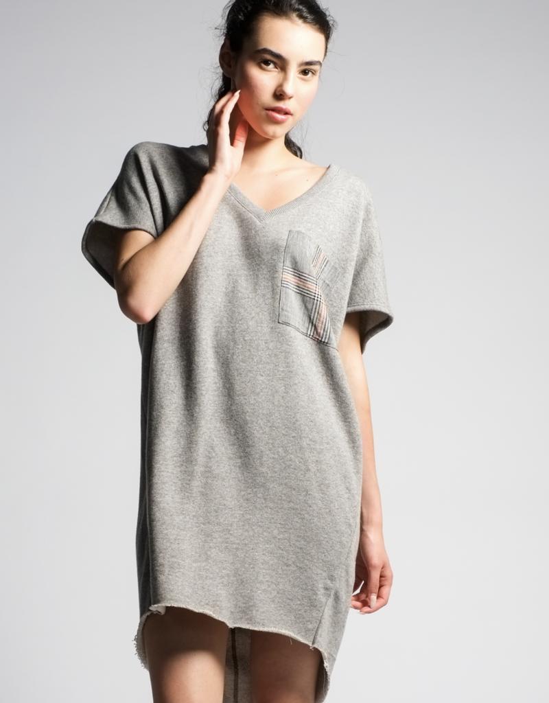 H606-Violet Dress