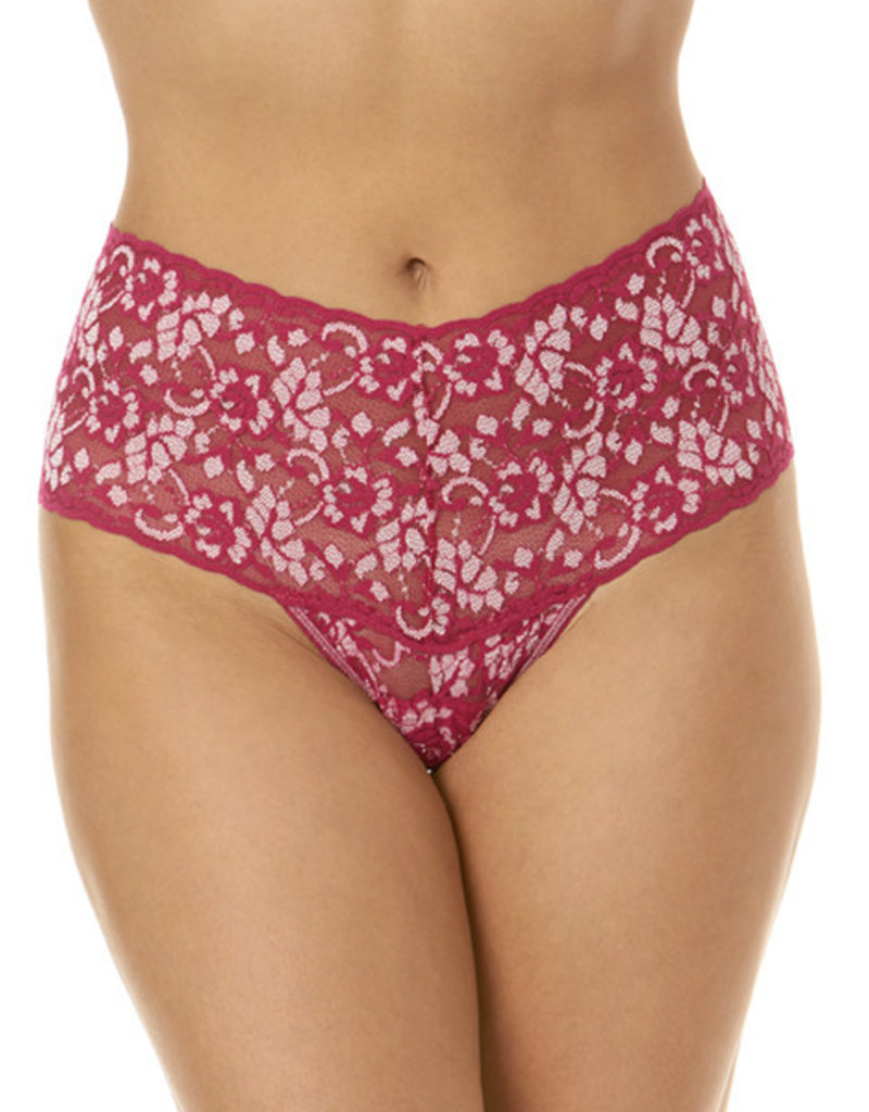Hanky Panky 591924-Cross-Dyed Retro Thong