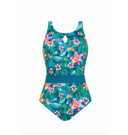 Amoena 71357-Mauritius High Necked Suit D Cups