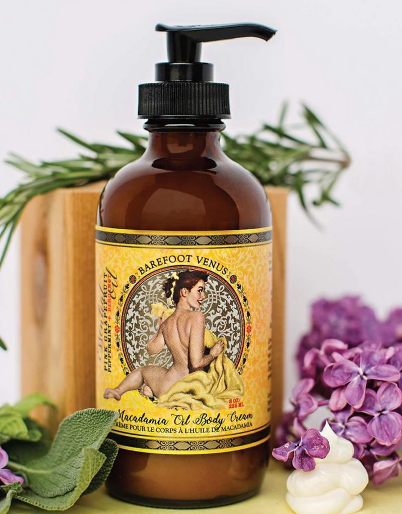 Barefoot Venus Mustard Bath Body Cream 8oz