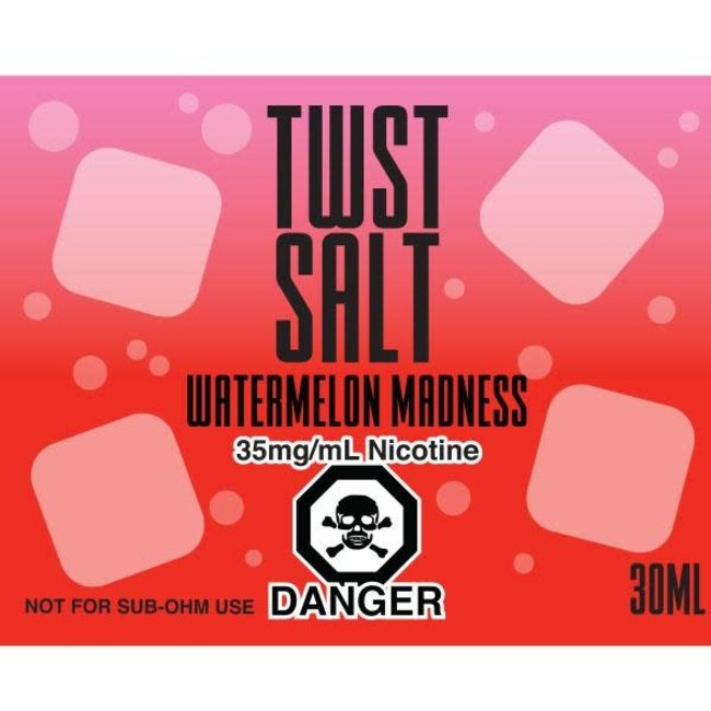 Twist Salts Watermelon Madness Salts