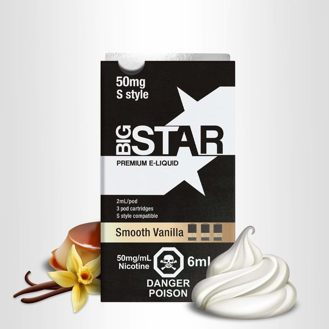 Big Star Smooth Vanilla (S Style)