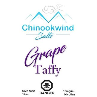Chinookwind Vapor Grape Chew Salt