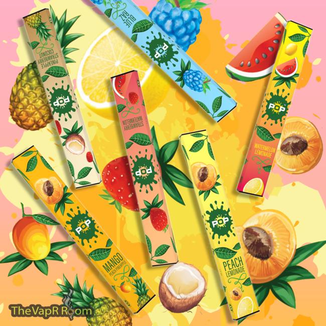 Pop - Pineapple Strawberry Coconut