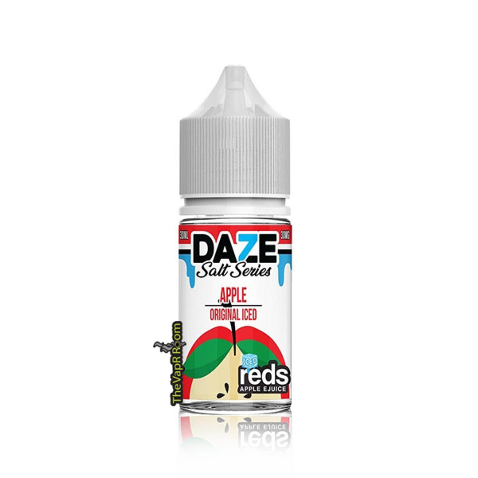 7 Daze Reds Apple Iced Salt
