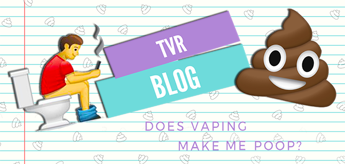 Does vaping make you poop?