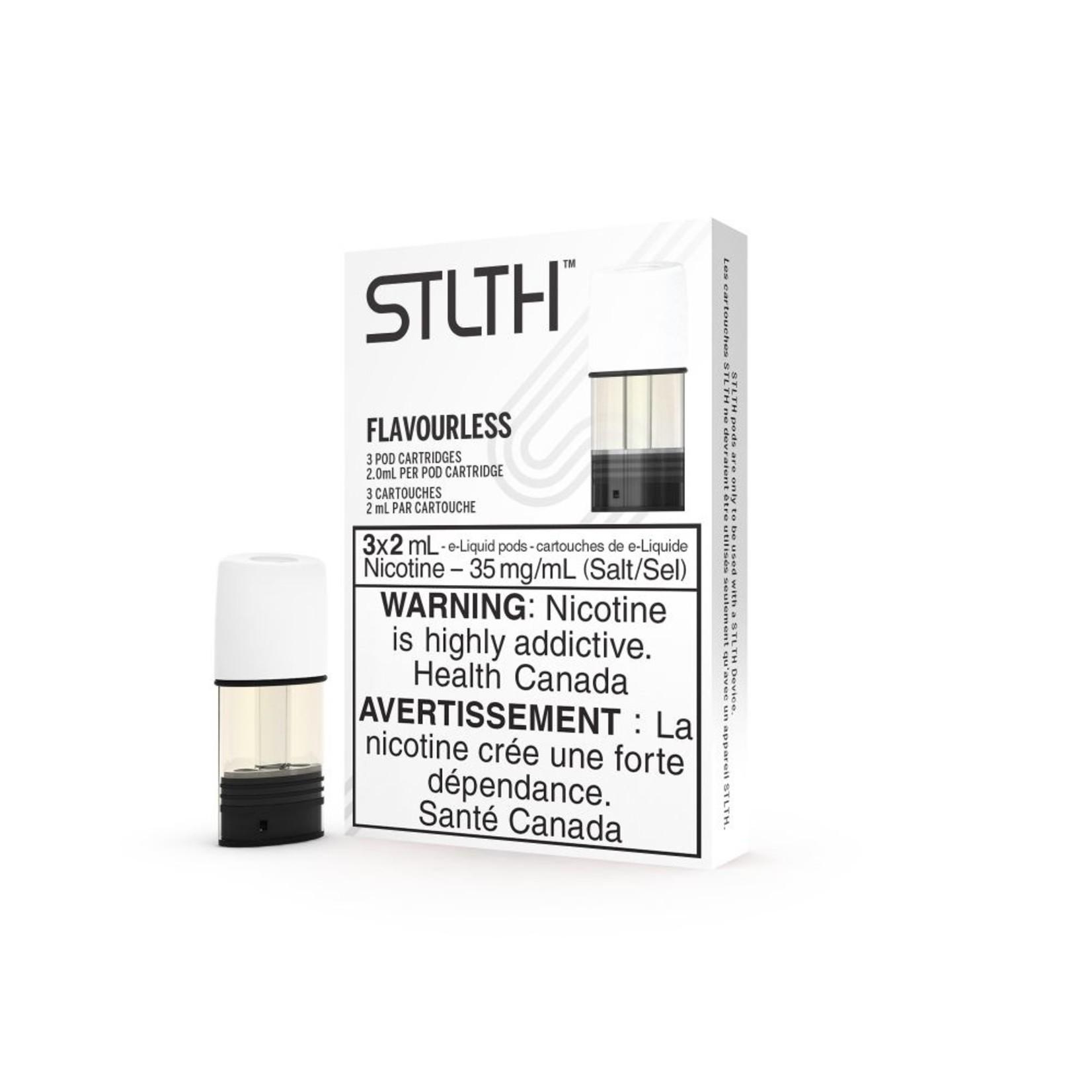 Stlth Flavorless Pods