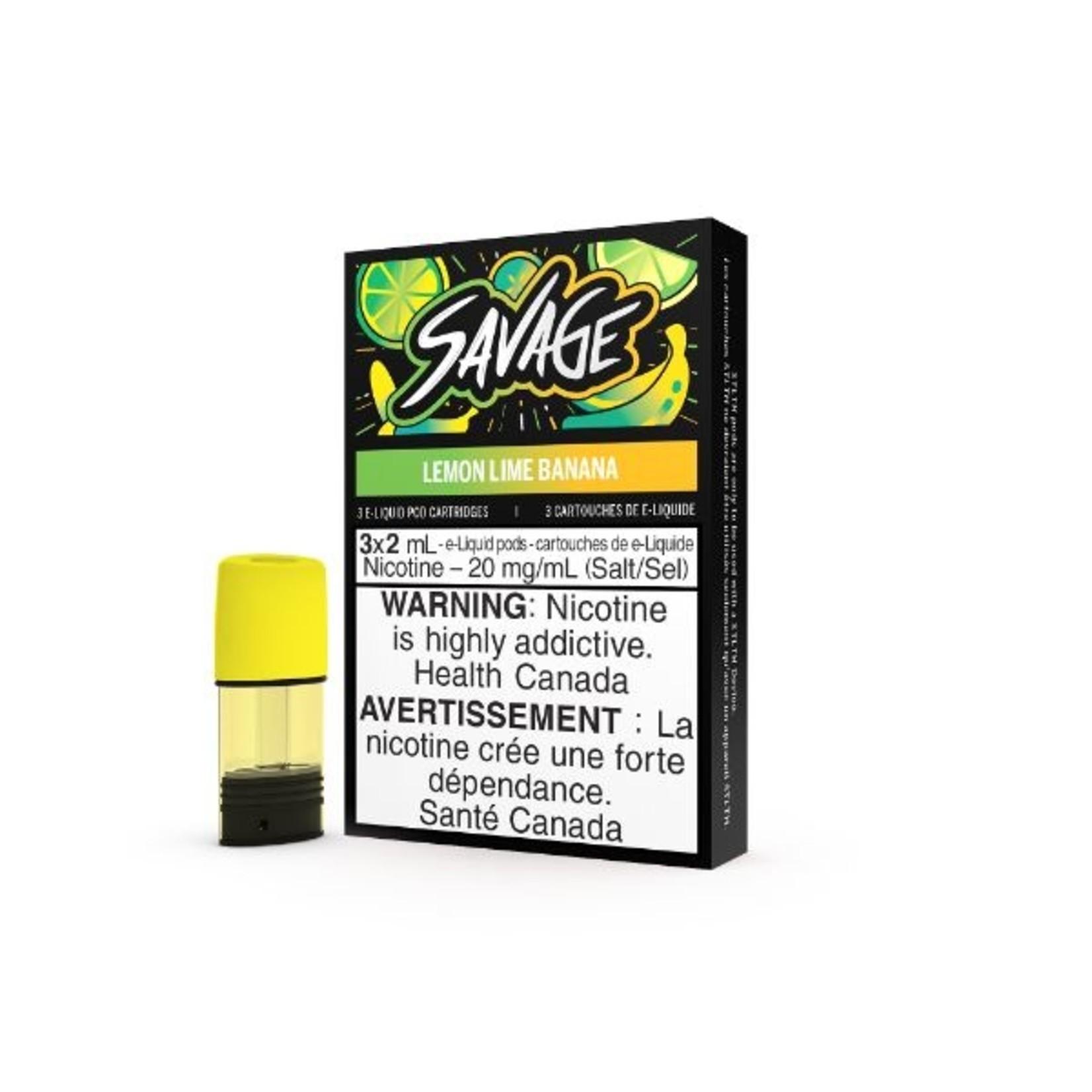 Savage Lemon Lime Banana (STLTH POD)