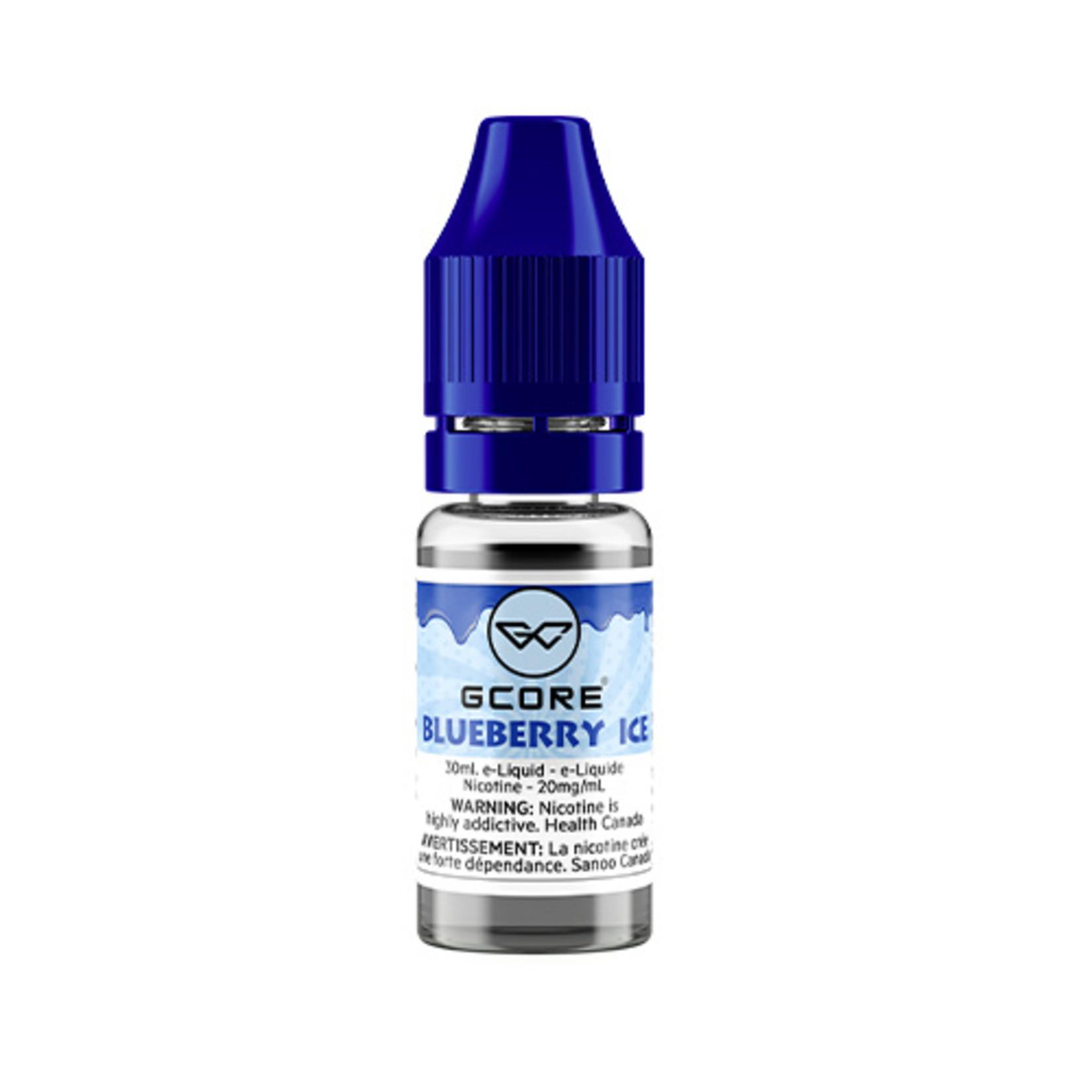 Gcore Vape Blueberry Ice Juice