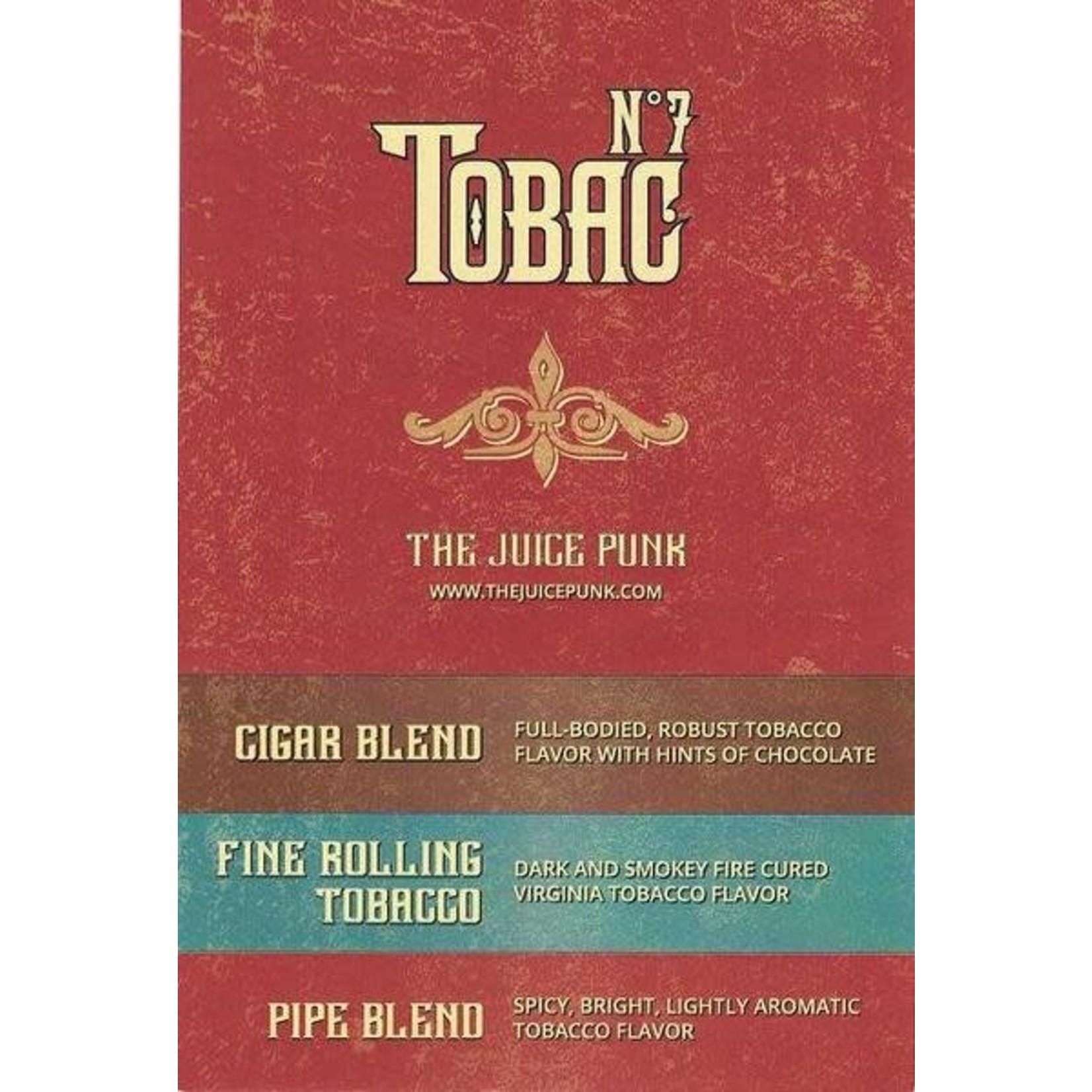 The Juice Punk Tobak No.7 Fine Rolling Tobacco