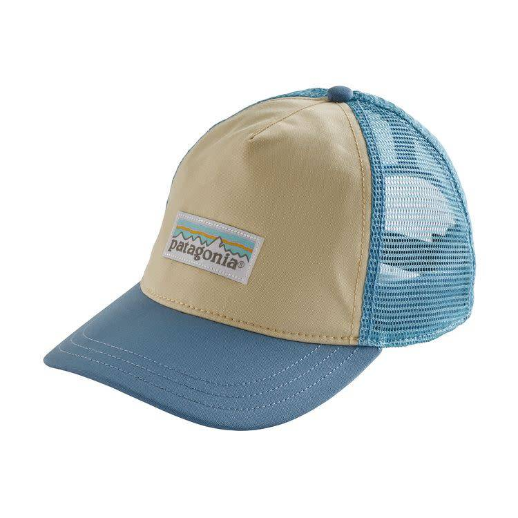 Patagonia Women's Pastel P-6 Label Layback Trucker Hat Piton Purple ALL