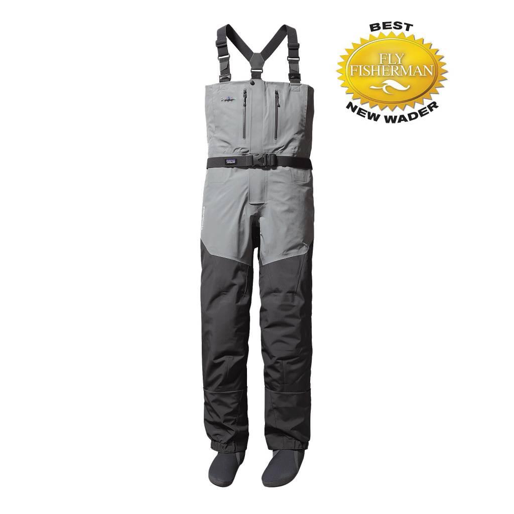 Patagonia Men's Rio Gallegos Zip Front Waders - Long Forge Grey XL