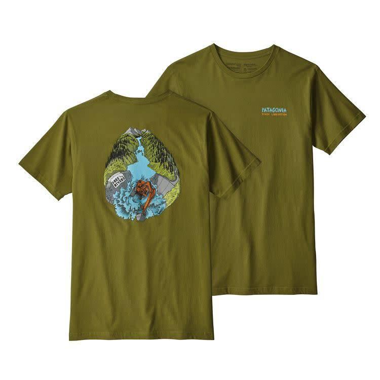 Patagonia Patagonia M's River Liberation Organic T-Shirt