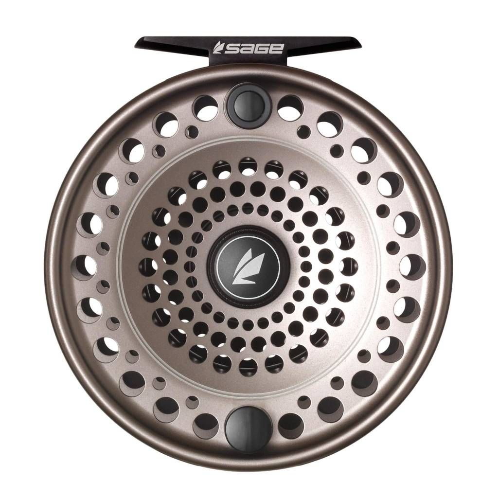Far Bank Enterprises Sage Spey Reel 7/8/9 Stealth/Silver