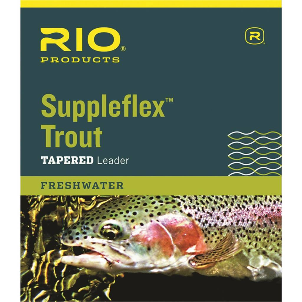 Rio Products Rio Suppleflex Tapered Leader 12' 5X
